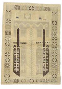 Taspinar Tapis 106X146 D'orient Fait Main Vert Clair/Beige Foncé/Beige (Laine, Turquie)