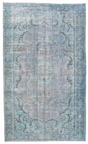 Colored Vintage Tapis 158X260 Moderne Fait Main Bleu Clair/Gris Clair (Laine, Turquie)