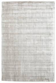 Broadway - Argenté Blanc Tapis 160X230 Moderne Gris Clair/Blanc/Crème ( Inde)