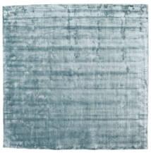 Broadway - Bleu Glace Tapis 250X250 Moderne Carré Bleu Clair Grand ( Inde)