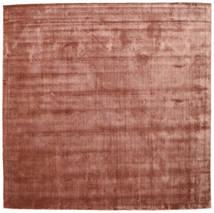 Brooklyn - Pale Copper Tapis 250X250 Moderne Carré Rouge Foncé/Marron Clair Grand ( Inde)