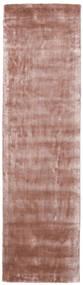 Broadway - Dusty Rose Tapis 80X300 Moderne Tapis Couloir Rose Clair/Rouge Foncé ( Inde)