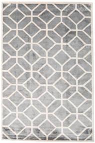 Palace Tapis 200X300 Moderne Fait Main Gris Clair/Blanc/Crème ( Inde)