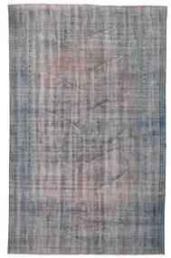 Colored Vintage Tapis 166X272 Moderne Fait Main Gris Clair/Gris Foncé (Laine, Turquie)