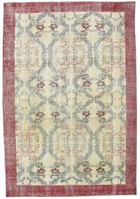 Colored Vintage Tapis 205X305 Moderne Fait Main Gris Clair/Blanc/Crème (Laine, Turquie)