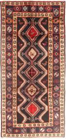 Koliai Tapis 140X308 D'orient Fait Main Tapis Couloir Rouge Foncé/Marron Foncé (Laine, Perse/Iran)