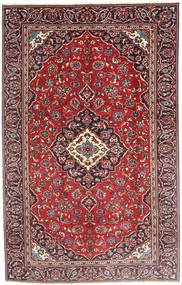 Kashan Tapis 185X290 D'orient Fait Main Rouge Foncé/Marron Foncé (Laine, Perse/Iran)