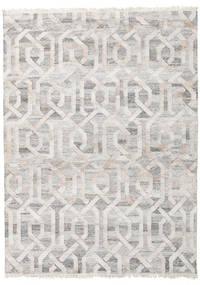 Trinny - Marron/Nature Tapis 170X240 Moderne Tissé À La Main Gris Clair ( Inde)