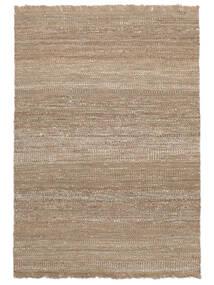 Sahara Jute Tapis 170X240 Moderne Tissé À La Main Gris Clair/Beige ( Inde)