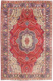 Tabriz Tapis 197X299 D'orient Fait Main Rose/Rouille/Rouge (Laine, Perse/Iran)