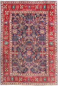 Tabriz Tapis 194X290 D'orient Fait Main Rouge Foncé/Beige (Laine, Perse/Iran)