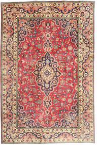 Tabriz Tapis 194X290 D'orient Fait Main Rouille/Rouge/Gris Foncé (Laine, Perse/Iran)
