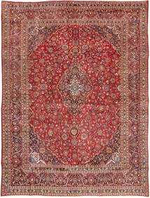 Mashad Tapis 285X385 D'orient Fait Main Rouge Foncé/Marron Foncé Grand (Laine, Perse/Iran)