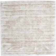 Tribeca - Warm Beige Tapis 250X250 Moderne Carré Gris Clair Grand ( Inde)