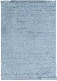 Soho Soft - Sky Bleu Tapis 140X200 Moderne Bleu Clair (Laine, Inde)