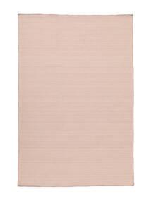 Kilim Loom - Misty Pink Tapis 160X230 Moderne Tissé À La Main Rose Clair (Laine, Inde)