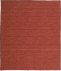 Kilim Loom - Rouille Tapis 250X300 Moderne Tissé À La Main Rouge Foncé Grand (Laine, Inde)