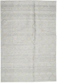 Handtufted Tapis 160X239 Moderne Gris Clair (Laine, Inde)