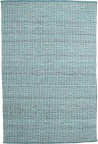 Alva - Turquoise/Blanc Tapis 200X300 Moderne Tissé À La Main Bleu Clair/Turquoise Foncé (Laine, Inde)