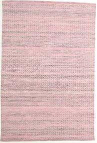 Alva - Rose/Blanc Tapis 160X230 Moderne Tissé À La Main Rose Clair/Violet Clair (Laine, Inde)