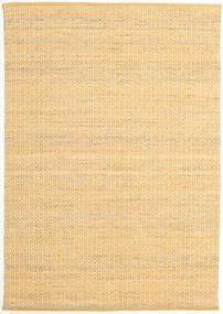 Alva - Foncé _Gold/Blanc Tapis 160X230 Moderne Tissé À La Main Beige Foncé/Marron Clair (Laine, Inde)