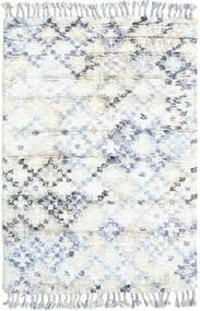 Greta Tapis 120X180 Moderne Fait Main Blanc/Crème/Beige (Laine, Inde)