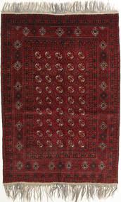 Afghan Khal Mohammadi Tapis 132X182 D'orient Fait Main Rouge Foncé/Gris Clair (Laine, Afghanistan)