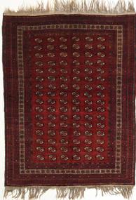 Afghan Khal Mohammadi Tapis 134X180 D'orient Fait Main Rouge Foncé (Laine, Afghanistan)