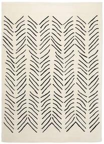 Scandic Lines - 2018 Tapis 160X230 Moderne Beige/Gris Foncé (Laine, Inde)