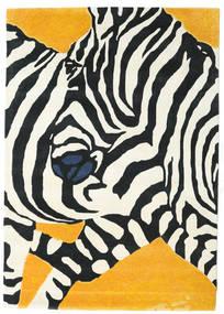 Zebra - 2018 Tapis 160X230 Moderne Beige/Noir (Laine, Inde)
