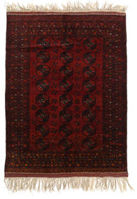 Afghan Khal Mohammadi Tapis 150X196 D'orient Fait Main Marron Foncé/Rouge Foncé (Laine, Afghanistan)