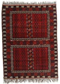 Afghan Khal Mohammadi Tapis 167X221 D'orient Fait Main Rouge Foncé/Gris Clair (Laine, Afghanistan)