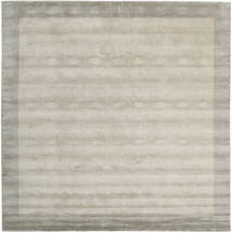 Handloom Frame - Greige Tapis 300X300 Moderne Carré Gris Clair Grand (Laine, Inde)