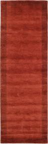 Handloom Frame - Rouille Tapis 80X250 Moderne Tapis Couloir Rouille/Rouge/Rouge Foncé (Laine, Inde)