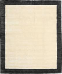 Handloom Frame - Noir/Blanc Tapis 250X300 Moderne Beige/Gris Foncé Grand (Laine, Inde)
