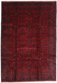 Afghan Khal Mohammadi Tapis 203X292 D'orient Fait Main Rouge Foncé/Rouge (Laine, Afghanistan)