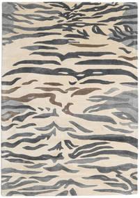 Love Tiger - Gris Tapis 160X230 Moderne Beige/Gris Foncé/Gris Clair ( Inde)