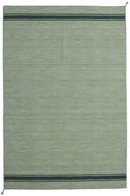 Ernst - Vert/Foncé _Green Tapis 200X300 Moderne Tissé À La Main Vert Olive/Vert Clair/Vert Pastel (Laine, Inde)
