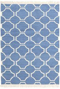 London - Bleu/Blanc Écru Tapis 160X230 Moderne Tissé À La Main Bleu/Beige (Laine, Inde)