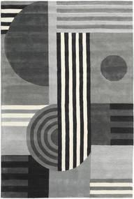 Tilt - Gris Tapis 200X300 Moderne Gris Clair/Noir (Laine, Inde)