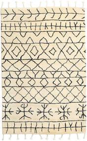 Moss Berber - Natural Tapis 180X275 Moderne Fait Main Beige (Laine, Inde)
