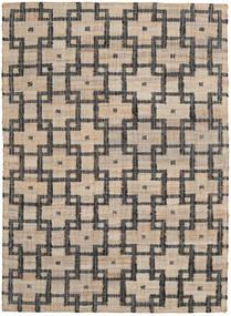 Tudor Tapis 160X230 Moderne Tissé À La Main Gris Clair/Gris Foncé ( Inde)