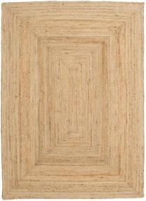 Frida - Natural Tapis 160X230 Moderne Tissé À La Main Beige Foncé/Beige ( Inde)