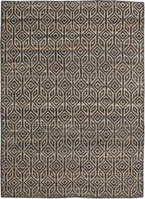 Tilly Jute Tapis 160X230 Moderne Tissé À La Main Gris Foncé/Gris Clair ( Inde)