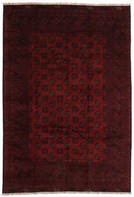 Afghan Tapis 196X289 D'orient Fait Main Marron Foncé/Rouge Foncé (Laine, Afghanistan)