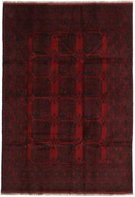 Afghan Tapis 198X288 D'orient Fait Main Rouge Foncé (Laine, Afghanistan)