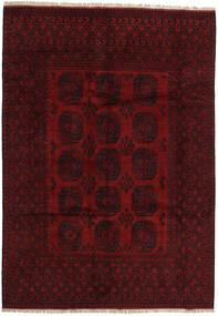 Afghan Tapis 199X282 D'orient Fait Main Rouge Foncé (Laine, Afghanistan)