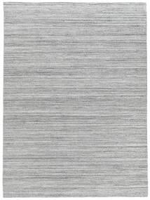 Petra - Light_Mix Tapis 200X300 Moderne Tissé À La Main Gris Clair/Blanc/Crème ( Inde)