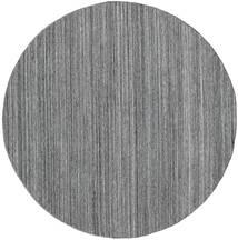 Tapis D'extérieur Petra - Dark_Mix Tapis Ø 200 Moderne Tissé À La Main Rond Gris Clair/Gris Foncé/Bleu ( Inde)