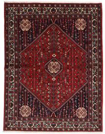 Abadeh Sherkat Farsh Tapis 155X204 D'orient Fait Main Rouge Foncé/Noir (Laine, Perse/Iran)